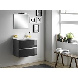 Kylpyhuoneryhmä Mimo Furniture Victoria 60 Blum-softclose lakattu musta