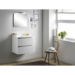 Kylpyhuoneryhmä Mimo Furniture Victoria 60 softclose lakattu valkoinen