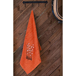 Kylpypyyhe Pikkupuoti Suovilla 70x140 cm oranssi
