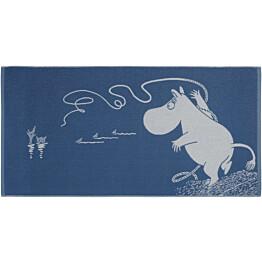 Kylpypyyhe Finlayson Muumipeikko 70x140 cm sininen