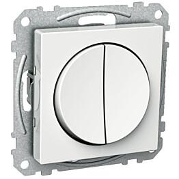 Kytkin 5/10A/IP21 UKJ pyöreä valkoinen Exxact