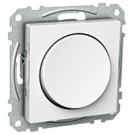 Kytkin 6/10A/IP21 UKJ pyöreä valkoinen Exxact