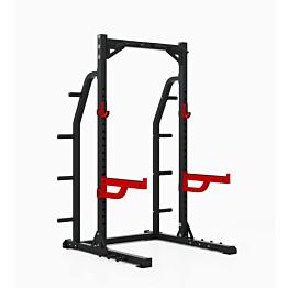 Kyykkyteline Master Fitness XT10 Half Rack sis. leuanvetotanko