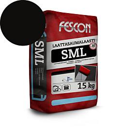 Laattasaumalaasti Fescon SML musta 15 kg