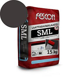 Laattasaumalaasti Fescon SML mustanharmaa 15 kg
