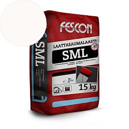 Laattasaumalaasti Fescon SML valkoinen 15 kg
