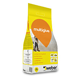 Laattojen kiinnityslaasti Weber Multiglue 5 kg