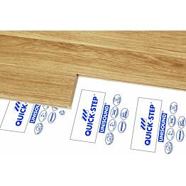 Laminaatin alusmateriaali Quick Step Unisound 2 mm valkoinen + DPM