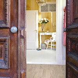Laminaatti Pergo Living Expression Classic Lauta, linnen tammi, 2-sauva