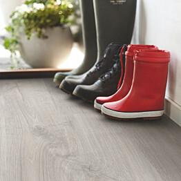 Laminaatti Pergo Living Expression Elegant Plank, cool grey harmaa tammi, lauta