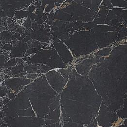Välitilan laminaatti Easy Kitchen 6133AR 4200x645x7mm musta marmori