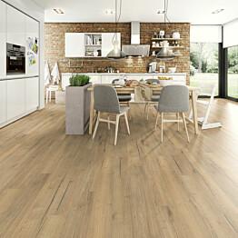 Laminaatti Egger Flooring Home Aqua+ Creston Tammi Luonnollinen 1,995 m²/pkt