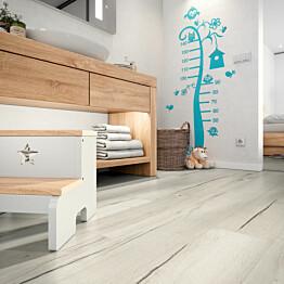 Laminaatti Egger Flooring Home Aqua+ Creston Tammi Valkoinen 1,995 m²/pkt