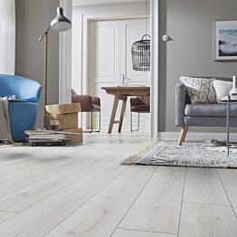 Laminaatti Kronotex Stella Advanced 3201 Trend Oak White vaalea