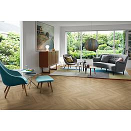 Laminaatti Pergo Living Expression Vasa 2V Beige Chevron Oak 1,901 m²/pkt