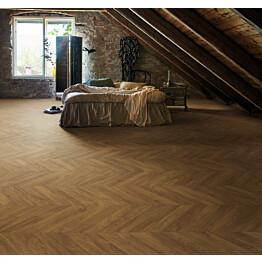 Laminaatti Pergo Living Expression Vasa 2V Dark Chevron Oak 1,901 m²/pkt