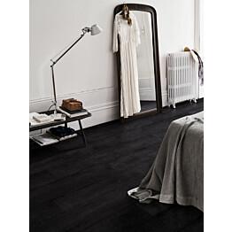 Laminaatti Pergo Original Excellence Lillehammer Pro 4V Black Painted Oak 2.048 m²/pkt
