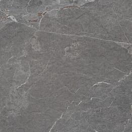 Laminaattitaso Easy Kitchen SL120 S, 4100x600x30, taivereuna R3, harmaa marmori