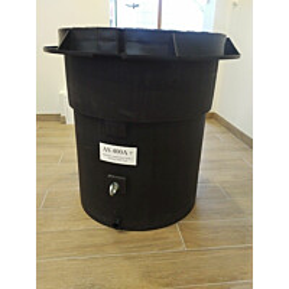 Lämpöeristetty vesimittarikaivo Ginmika AS400+, vesiputki erikoistilauksesta