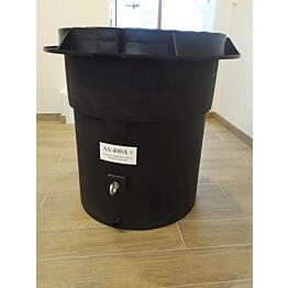 Lämpöeristetty vesimittarikaivo Ginmika AS500A, vesiputki erikoistilauksesta