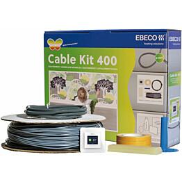 Lämpökaapelipaketti Ebeco Cable Kit 400, 107m, 1180W