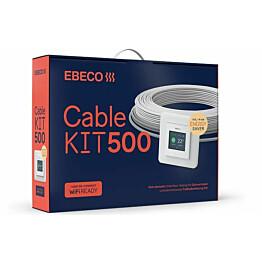 Lämpökaapelipaketti Ebeco Cable Kit 500, 187m, 2080W