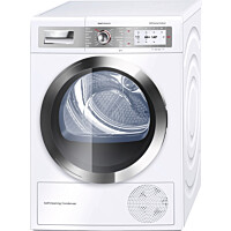 Lämpöpumppukuivausrumpu Bosch WTY88898SN valkoinen