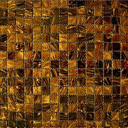 Lasimosaiikki Gils Mocca 32,7 x 32,7 seinä-/lattialaatta
