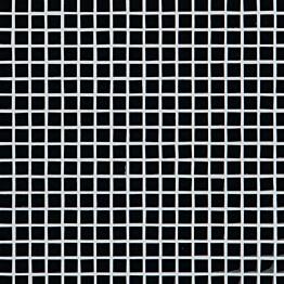 Lasimosaiikki Qualitystone Crystal Black verkolla 15 x 15 mm