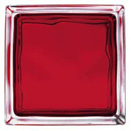 Lasitiili Vitrablok Iris 1908/W W RO punainen pilvi