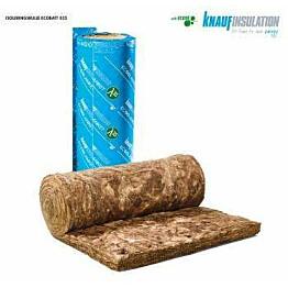 Lasivillarulla Knauf EcoBlanket 035 100mm, rullakoko 570x6500mm, 7,41m2/rll