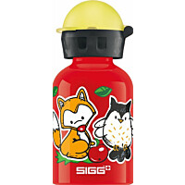 Lasten juomapullo SIGG 0,3 L, Forest Kids