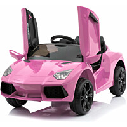 Lasten sähköauto Lyfco 12V, pinkki, 2x25W