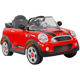 Lasten sähköauto Rollplay Mini Cooper S Coupe Premium, 12V, punainen