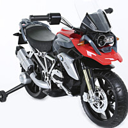 Lasten sähkömoottoripyörä Rollplay BMW 1200, 12V, punainen