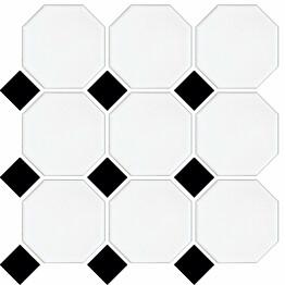 LPC Art Octagon 97,7x97,7mm, verk.valk/musta