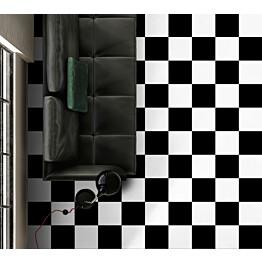 Lattialaatta Kymppi-Lattiat History Jugend Basic Black himmeä 250x250 mm
