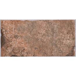 Lattialaatta LPC Depot Punatiili 10x20 cm Chicago tekstillä punainen