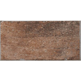 Lattialaatta LPC Depot Terracotta 10x20 cm Chicago tekstillä punainen