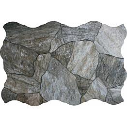 Lattialaatta LPC Deva Gris 44,2x66,4 cm harmaa