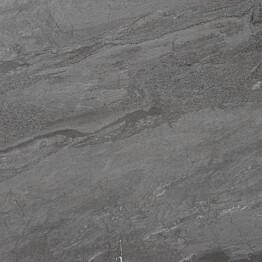 Lattialaatta LPC Slate St Antrasiitti 100x100 cm tasapintainen matta harmaa