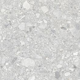 Lattialaatta Pukkila Ceppostone Grey sileä 597x597 mm