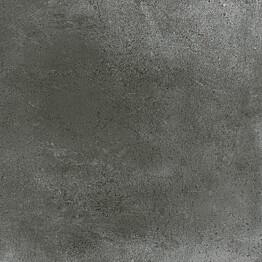 Lattialaatta Pukkila Europe Black himmeä sileä 598x598 mm