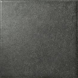 Lattialaatta Pukkila Geo Black himmeä sileä 97x97 mm