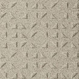 Lattialaatta Pukkila Keradur Technica White Mix himmeä struktuuri kolmiokulmanasta 146x146 mm