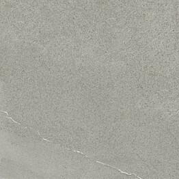 Lattialaatta Pukkila Landstone Grey himmeä sileä 598x598 mm