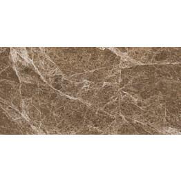 Lattialaatta Pukkila Luxury Stone Emperador Light Ruskea himmeä sileä 987x493 mm