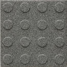 Lattialaatta Pukkila Natura Granite Grey himmeä struktuuri pyörönasta 96x96 mm