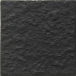 Lattialaatta Pukkila Natura Musta himmeä struktuuri rt 96x96 mm