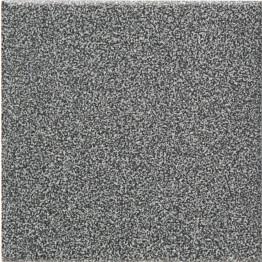 Lattialaatta Pukkila Natura Speckled Black-White himmeä sileä 96x96 mm lasikuituverkossa